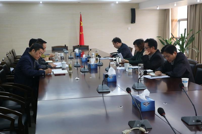 王爱武主持召开大观经济开发区工作座谈会